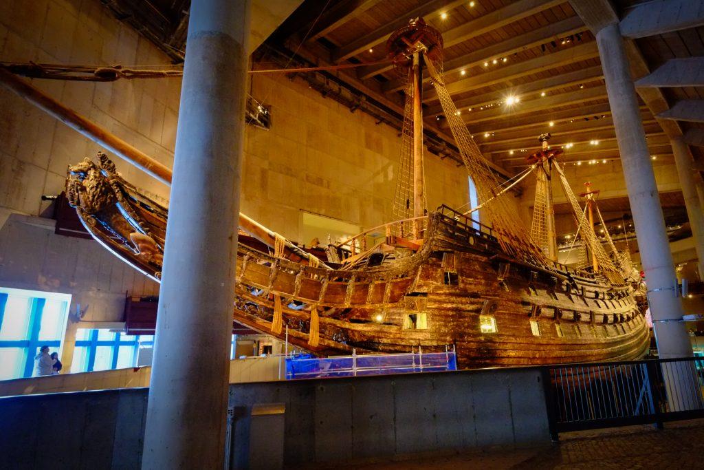 Musée Vasa, Stockholm -Suède,
