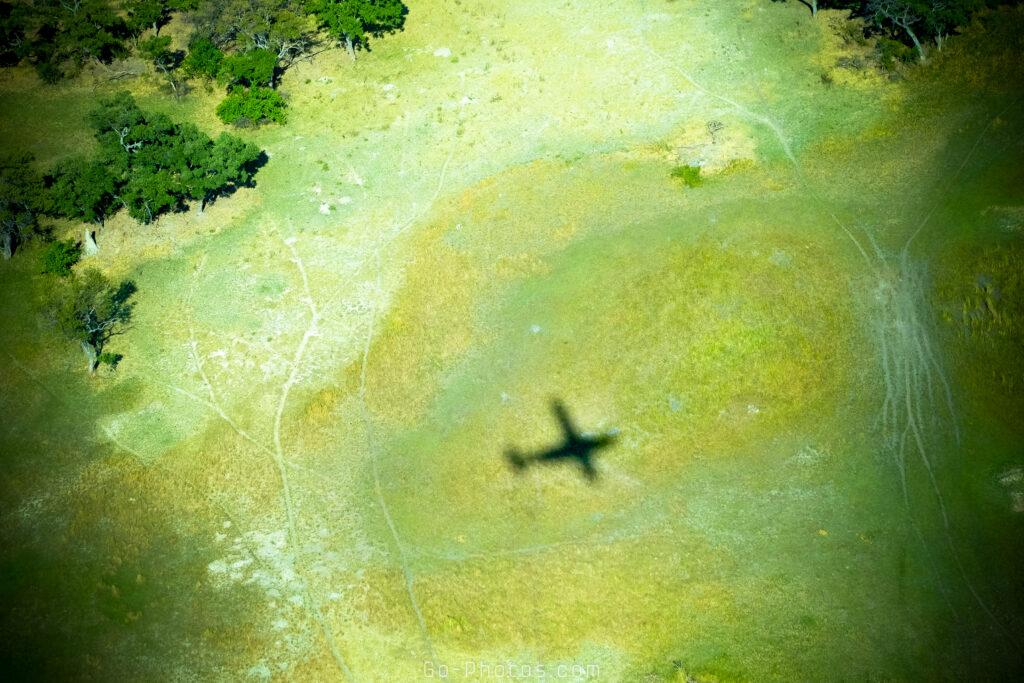 Vol au dessus du delta de l'Okavongo