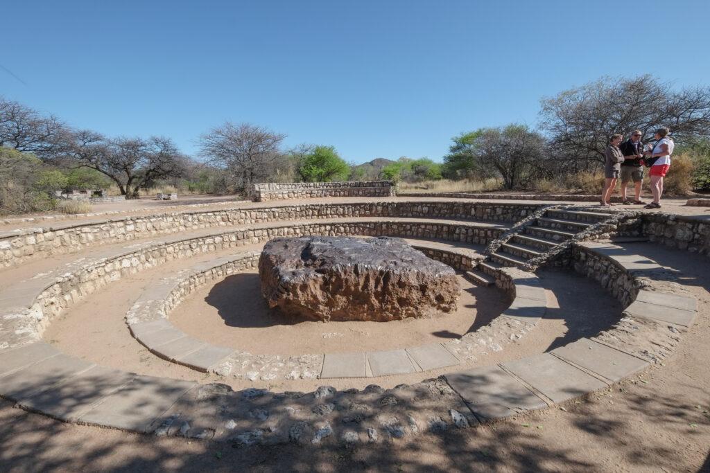 Météorite de Hoba, Namibie