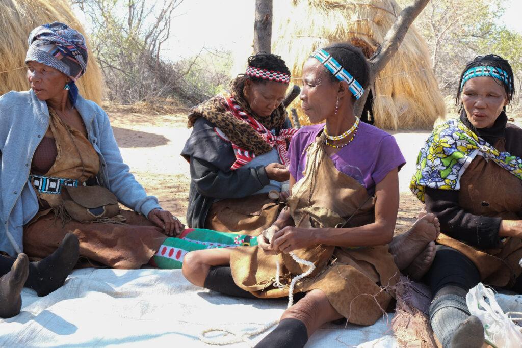 Les bushmen du Botswana