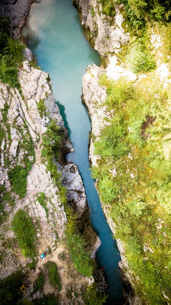 Soca Lepena, Slovénie