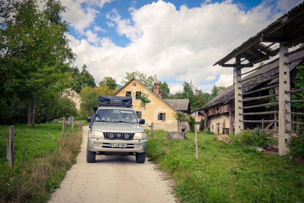 Road trip en 4x4 en Slovénie
