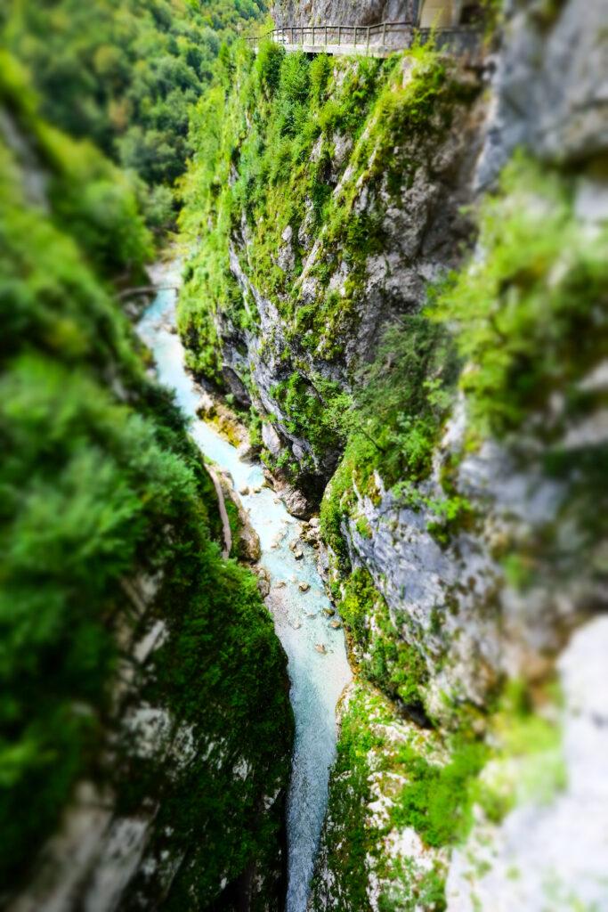Gorges de Tolmin, Slovénie