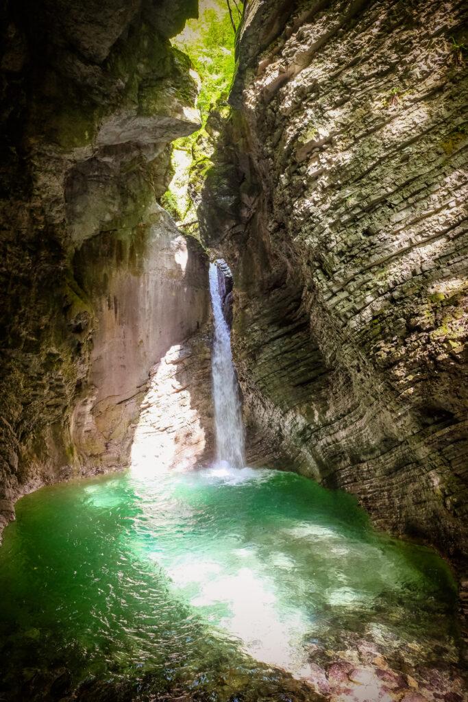 Slap Kozjak, Slovénie
