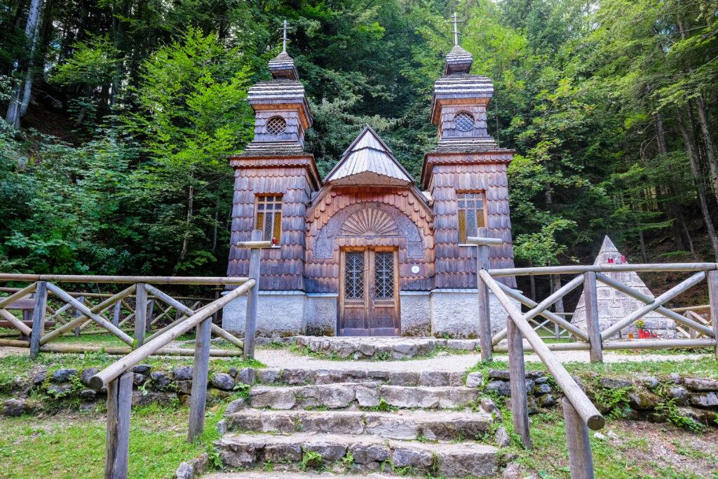 Chapelle Russe, Vrsic