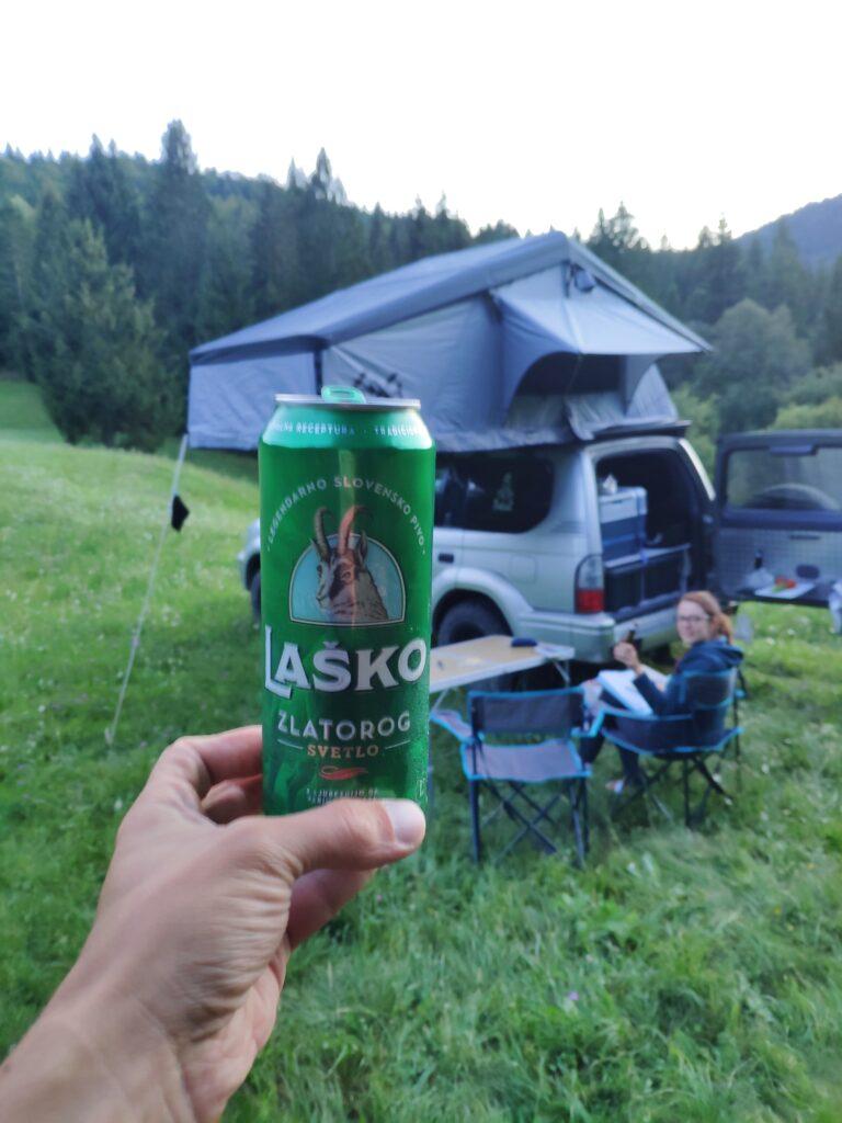 Bivouac en Slovénie