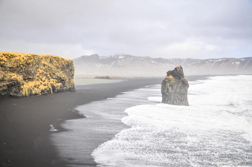 Rochers de Vik, Islande