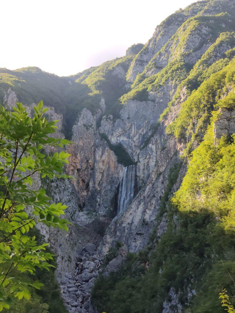 Slap Boka, Slovenie